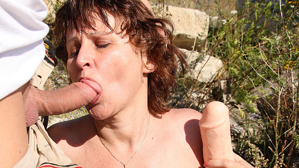 All Natural Hairy Mature