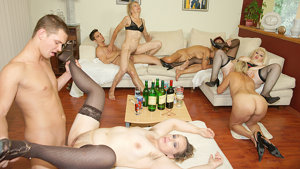 mature party Hot sex