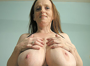 These big mature knockers are made for fun