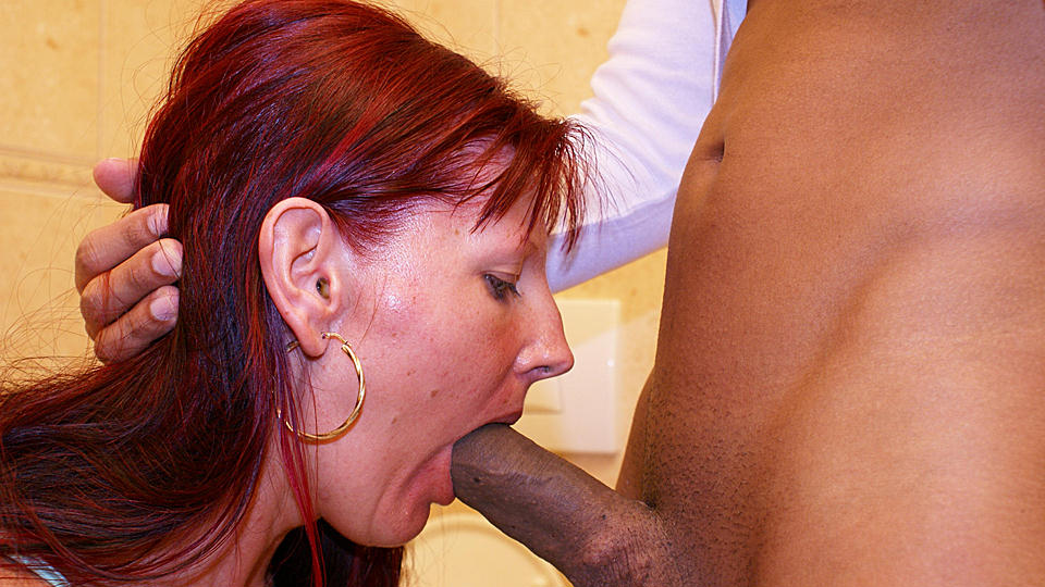 Cock sucking thoat deep