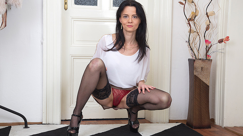 suggest you come mom son fuck pantyhose with you