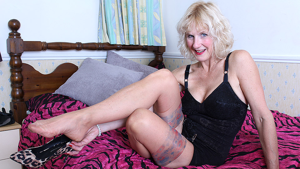 Horny british mature
