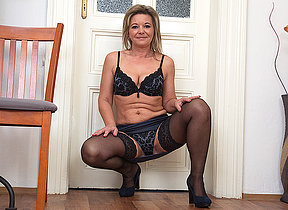 Naughty missis getting very horny
